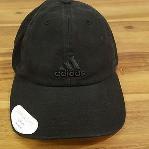 Adidas womens fit black hat